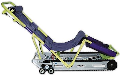 garaventa evacu trac evacuation chairs the evacu trac cd7. Black Bedroom Furniture Sets. Home Design Ideas