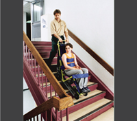 emergency stair chair. Unique Stair Moving Down The Stairs And Emergency Stair Chair